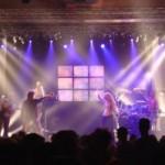 Foto van een optreden met licht van Showlight