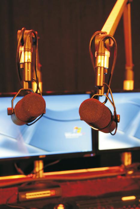 Foto van broadcast facilities
