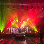 lichtproductie door Showlight voor eindshow