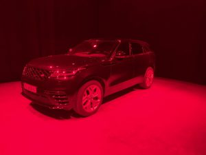 Range Rover Velar foto en video productie