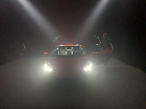 video shoot Lamborghini Huracan